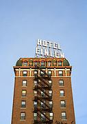 Hotel Finlen, Butte Montana.