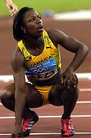 25/08/04 - ATHENS  - GREECE -  - Woman 200Mts. FINAL   -  Olympic Stadium - <br />Runner N*2223 CAMPBELL VERONICA (JAM) win the 200Mts. <br />© Gabriel Piko / Argenpress.com / Piko-Press