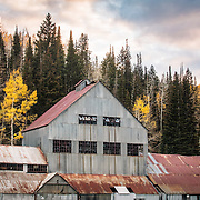 One of many abandoned mines sprawled throughout the Park City area. This one is right next to the Bonanza lift and was ran by the Silver King Mining Co. Fall 2016
