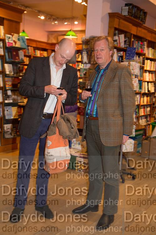 HARRY MOUNT; CHRISTOPHER SILVESTER; , Alba Arikha  book launch for 'Soon' , Daunt's Holland Park.. London. 17 September 2013.