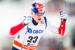 March 10, 2018 - Oslo, NORWAY - 180310 Eirik Sverdrup Augdal of Norway competes in men's 50 km free technique during FIS Cross-Country World Cup on March 10, 2018 in Oslo..Photo: Jon Olav Nesvold / BILDBYRN / kod JE / 160214 (Credit Image: © Jon Olav Nesvold/Bildbyran via ZUMA Press)
