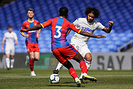 Izzy Brown of Leeds United U23 on that attack during the U23 Professional Development League match between U23 Crystal Palace and Leeds United at Selhurst Park, London, England on 15 April 2019.