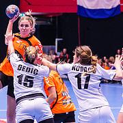 NLD/Den Bosch/20160604 - EK Kwalificatiewedstrijd handbal Nederland - Oostenrijk,