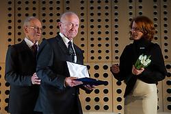 Janez Ivan Hafner at 52th Annual Awards of Stanko Bloudek for sports achievements in Slovenia in year 2016 on February 14, 2017 in Brdo Congress Center, Brdo, Ljubljana, Slovenia.  Photo by Martin Metelko / Sportida