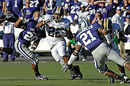 MANHATTAN, KS - NOVEMBER 17:  Running back Tony Temple #22 of the Missouri Tigers rushed for 91 yards and two touchdowns against the Kansas State Wildcats on November 17, 2007 at Bill Snyder Stadium in Manhattan, Kansas.  Missouri won the game 49-32.  (Photo by Peter Aiken/Getty Images)