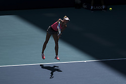 March 22, 2019 - Miami Gardens, Florida, USA - Great Britain's KYLE EDMUND in action in their match on the fifth day of the Miami Open. Edmund went on to win 6-3, 6-4. (Credit Image: © Adam DelGiudice/ZUMA Wire)