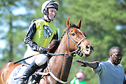 27 March 2010 : Paddy Young aboard eventual winner, SPY IN THE SKY.