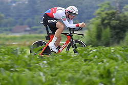 June 17, 2018 - Gommiswald, Suisse - BELLINZONA, SWITZERLAND - JUNE 17 : KUNG Stefan (SUI)  of BMC Racing Team during stage 9 of the Tour de Suisse cycling race, an individual time trial of 34 kms between Bellinzona and Bellinzona on June 17, 2018 in Bellinzona, Switzerland, 17/06/2018 (Credit Image: © Panoramic via ZUMA Press)
