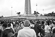 The Placa de la Revolucion in Habana is notable for being where many political rallies take place and Fidel Castro and other political figures address Cubans. Fidel Castro has addressed more than a million Cubans on many important occasions.