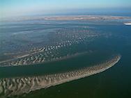 Luchtfoto Waddenzee