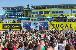 October 25, 2017 - Julian Wilson (AUS) is the Runner -up and Gabriel Medina (BRA) the winner of the Final  at MEO Rip Curl Pro Portugal 2017 in Peniche, Portugal..MEO Rip Curl Pro Portugal 2017 - 25 Oct 2017 (Credit Image: © Rex Shutterstock via ZUMA Press)