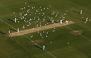PERTH, AUSTRALIA - DECEMBER 18: Seagulls fly over the wicket area during day three of the Third Test match between Australia and the West Indies at WACA on December 18, 2009 in Perth, Australia.  (Photo by Paul Kane/Getty Images)