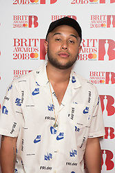 EDITORIAL USE ONLY XXXX Jax Jones attending the Brit Awards 2018 Nominations event held at ITV Studios on Southbank, London. Photo credit should read: David Jensen/EMPICS Entertainment