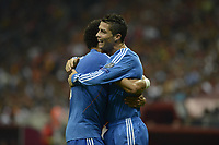 17-09-2013  Champions League <br /> Galatasaray and Real Madrid<br /> <br /> Pepe and Christiano Ronaldo of Real Madrid. <br /> Norway only