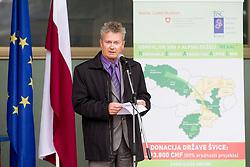 """Projekt """"REAAL"""" - Investicije za uporabo obnovljivih virov energije in energetsko ucinokovitost objektov, projekt Plavalni bazen Kranj. Foto: Vid Ponikvar / Sportida.com."""