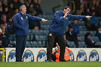 Football - 2012 / 2013 Championship - Blackburn Rovers vs. Huddersfield Town<br /> Gary Bowyer, caretaker manager of Blackburn Rovers and assistant Terry McPhillips at Ewood Park