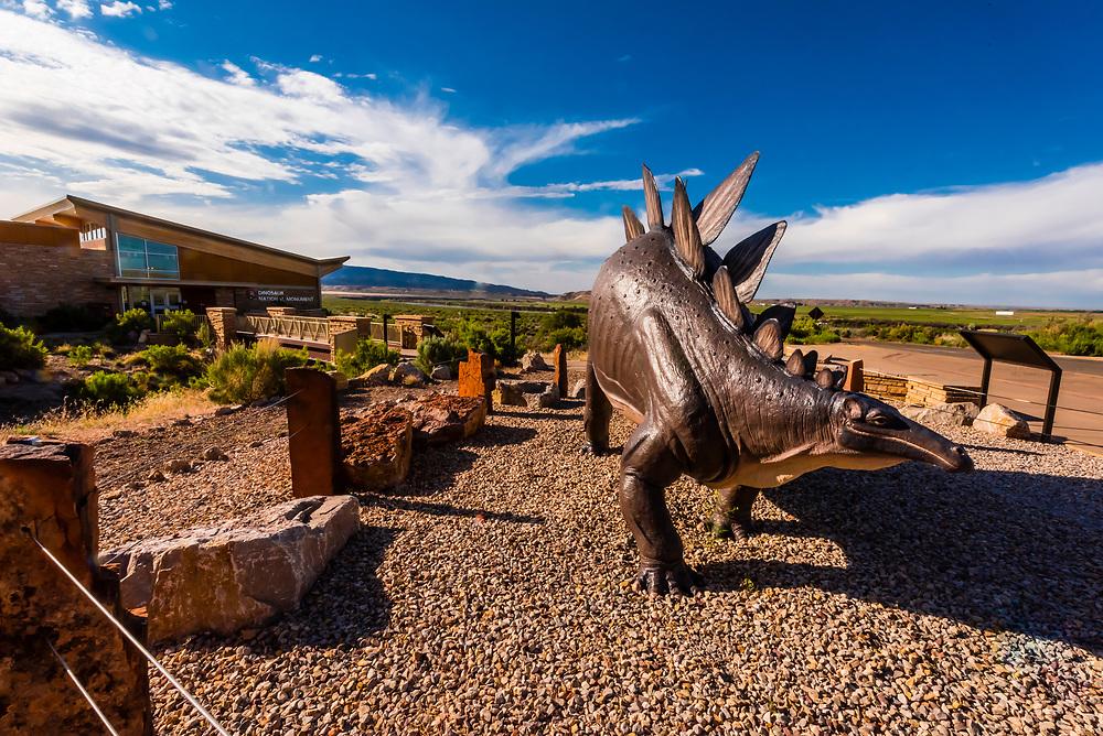 Visitors Center, Dinosaur National Monument, Utah USA.