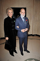 PRINCE & PRINCESS MICHAEL OF KENT at a party to celebrate the publiction of 'No Invitation Required' by Annabel Goldsmith, held at Claridge's, Brook Street, London on 11th November 2009.