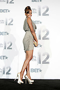 June 30, 2012-Los Angeles, CA : Actress/TV Personality Claudia Jordan attends the 2012 BET Awards- Media Room held at the Shrine Auditorium on July 1, 2012 in Los Angeles. The BET Awards were established in 2001 by the Black Entertainment Television network to celebrate African Americans and other minorities in music, acting, sports, and other fields of entertainment over the past year. The awards are presented annually, and they are broadcast live on BET. (Photo by Terrence Jennings)