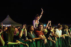 Magnifico during music festival Schengen fest od / 1. August in Vinica, Slovenia.  Photo by Grega Valancic / Sportida