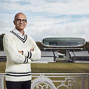 Satya Nadella, Microsoft CEO at Lord's cricket ground