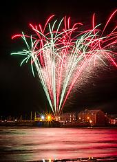 Guy Fawkes Fireworks, North Berwick, 5 November 2019