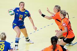 10-12-2014 CRO: EHF EK Nederland - Zweden, Varazdin<br /> Isabelle Gullden #20 of Sweden during handball match between Netherlands and Sweden at 11th EHF European Women's Handball Championship Hungary-Croatia 2014<br /> *** USE NETHERLANDS ONLY ***