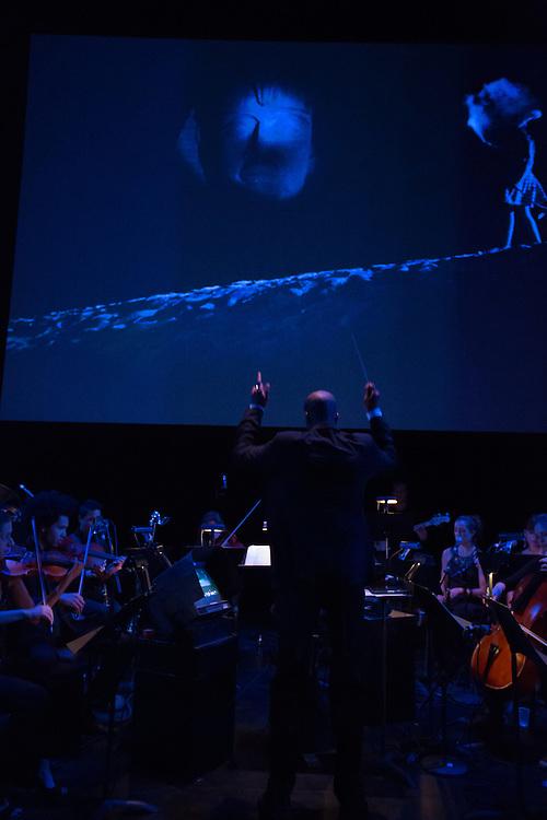 Composer Joseph C. Phillips Jr. conducts Numinous.