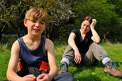 Mother and son UK