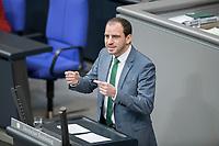 14 FEB 2019, BERLIN/GERMANY:<br /> Maik Beermann, MdB, CDU, Bundestagsdebatte, Plenum, Deutscher Bundestag<br /> IMAGE: 20190214-01-053<br /> KEYWORDS: Bundestag, Debatte