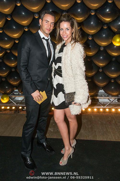 NLD/Amsterdam//20140329 - Emma Fund Raising 2014, Renee Vervoorn en partner Guy van der Reijden