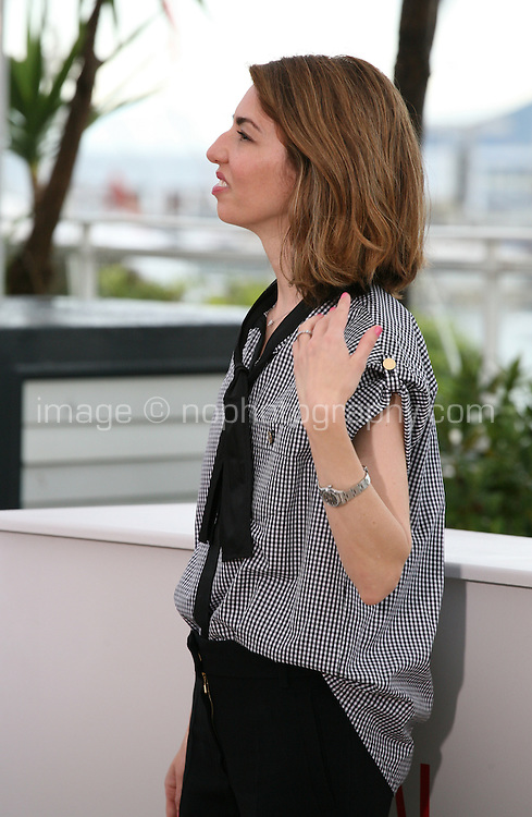 Sofia Coppola, Director, at the Bling Ring film photocall at the Cannes Film Festival 16th May 2013. The Bling Ring is directed by Sofia Coppola and in Un Certain Regard category of the festival.