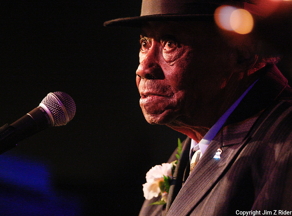 Pinetop Perkins performs in South Bend, Indiana