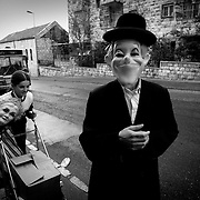 Fiesta del Purim  en el barrio de Mea Shearim, Jerusalem. © JORDI CAMÍ<br /> <br /> Feast of the Purim in the district of Mea Shearim, Jerusalem. © JORDI CAMÍ