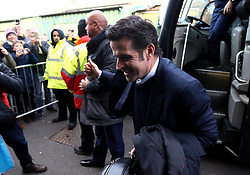 Everton manager Marco Silva arrives for the Premier League match at Vicarage Road, Watford.