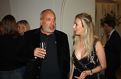 STEPHEN MARKS of French Connection and JENNY HALPERN<br /><br />at a party to celebrate the 10th anniversary of Jo Malone the perfumer held at The Banquetting House, Whitehall, London on 21st October 2004.<br /><br /><br /><br />NON EXCLUSIVE - WORLD RIGHTS