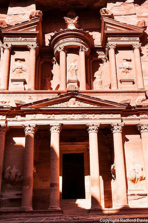 Treasury building, Petra, Jordan.