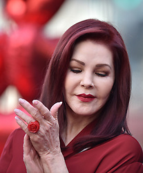Priscilla Presley attends the ceremony honoring Michael Buble with a star on The Hollywood Walk Of Fame on November 16, 2018 in Los Angeles, CA, USA. Photo by Lionel Hahn/ABACAPRESS.COM
