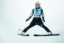 Sara Takanashi of Japan during 2nd Round at Day 1 of World Cup Ski Jumping Ladies Ljubno 2019, on February 8, 2019 in Ljubno ob Savinji, Slovenia. Photo by Matic Ritonja / Sportida