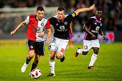 16-08-2018 NED: UEFA Europa Cup League Feyenoord vs. AS Trencin, Rotterdam<br /> Third Qualifying Round, Steven Berghuis #19 of Feyenoord, James Lawrence #8