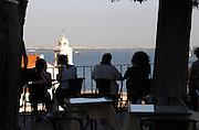 restaurant terrace miradouro viewpoint alfama district lisbon portugal