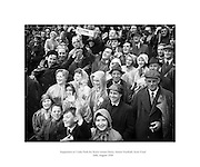 Supporters at Croke Park for Kerry and Derry, Senior Football, Semi-Final.24/08/1958