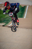 #974 (MAYET Romain) FRA at Round 1 of the 2020 UCI BMX Supercross World Cup in Shepparton, Australia