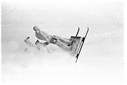 Dangerous Sports club ski race, St. Moritz. 1985. © Copyright Photograph by Dafydd Jones 66 Stockwell Park Rd. London SW9 0DA Tel 020 7733 0108 www.dafjones.com