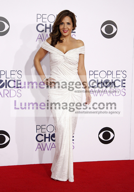 Maria Canals Barrera at the 41st Annual People's Choice Awards held at the Nokia L.A. Live Theatre in Los Angeles on January 7, 2015. Credit: Lumeimages.com