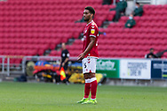 Bristol City's Zak Vyner (26) in action during the EFL Cup match between Bristol City and Exeter City at Ashton Gate, Bristol, England on 5 September 2020.
