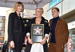 Kerri Kenney-Silver and Ellen Degeneres attend the ceremony honoring Pink with Star on The Hollywood Walk Of Fame on February 5, 2019 in Los Angeles, CA, USA. Photo by Lionel Hahn/ABACAPRESS.COM