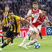 NLD/Amsterdam/20180919 - Ajax - AEK, nr 12 Noussair Mazraoui