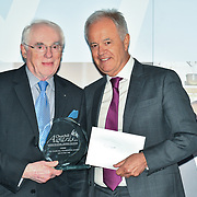 Martin Young Present Winner of The Churchill Foundation Award – Ken Syvret of the 7th annual Churchill Awards honour achievements of the Over 65's at Claridge's Hotel on 10 March 2019, London, UK.