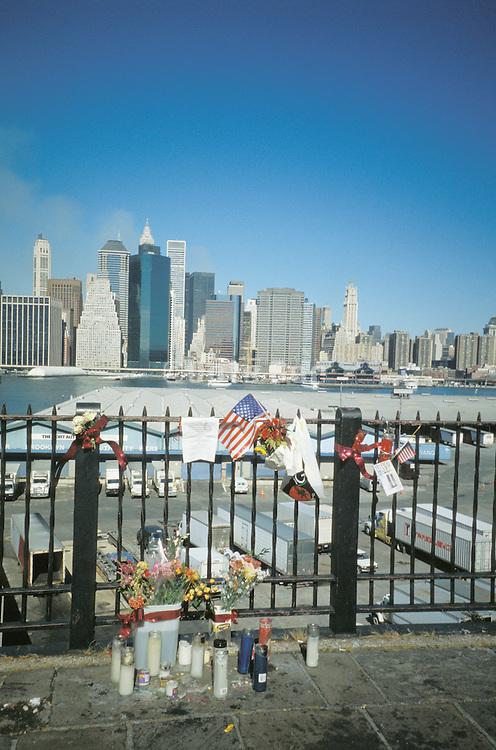 memorial for September 11th
